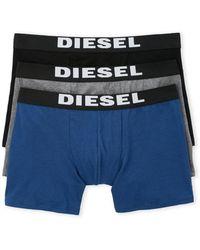 DIESEL - 3-Pack Boxer Briefs - Lyst