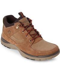 Rockport - Dark Tan Kingstin Waterproof Boots - Lyst