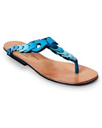 Robert Clergerie - Imani T-strap Sandals - Lyst