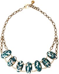 Lulu Frost - Anita Multi Accented Necklace - Lyst