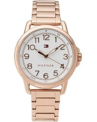 Tommy Hilfiger - 1781657 Rose Gold-tone Casey Watch - Lyst
