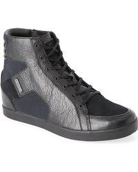 Adidas SLVR | Black Kitt Hidden Wedge Sneakers | Lyst