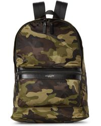 Michael Kors - Kent Nylon Camo Backpack - Lyst