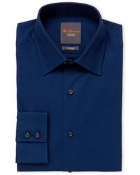 Ben Sherman - Dark Navy Dress Shirt - Lyst
