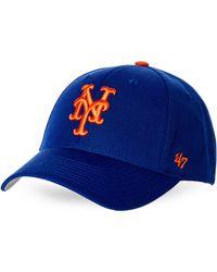 bf6e1b2ff Lyst - 47 Brand New York Mets Suspense Cap in Blue for Men