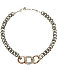 Swarovski - Bound Necklace - Lyst