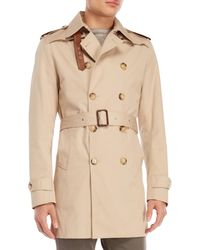 Sandro - Double Breasted Trench Coat - Lyst