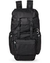 Steve Madden - Black Ripstop Climber Backpack - Lyst