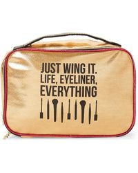 Juicy Couture - Metallic Travel Cosmetic Case - Lyst
