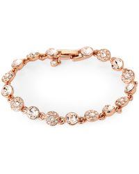 Givenchy - Rose Gold-tone Crystal Flex Bracelet - Lyst