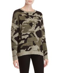 Workshop - Camouflage Long Sleeve Sweater - Lyst