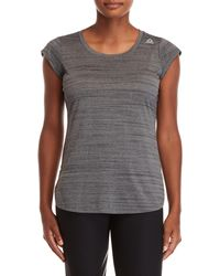 Reebok - Scoop Neck Tee - Lyst