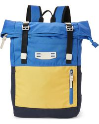 """Olympia - Blue Oxford 19"""" Backpack - Lyst"""