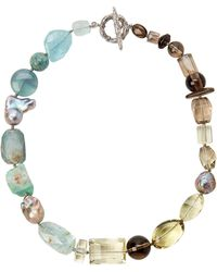 Stephen Dweck - Quartz & Baroque Cultured Pearl Necklace - Lyst