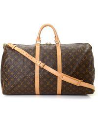 Louis Vuitton - Keepall 55 Bandoulie Travel Bag - Vintage - Lyst