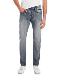Buffalo David Bitton - Blasted Ash-x Skinny Stretch Jeans - Lyst