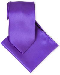 Pierre Cardin - Silk Tie & Pocket Square Set - Lyst
