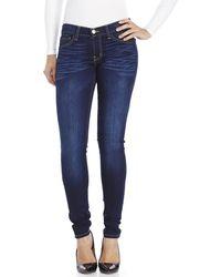 Flying Monkey - Medium Blue Skinny Jeans - Lyst