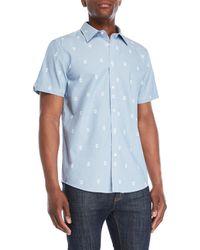 Ben Sherman - Skull Print Short Sleeve Shirt - Lyst