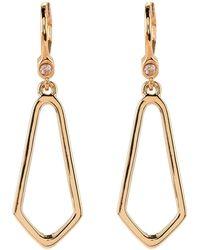 Ivanka Trump - Gold-tone Open Earrings - Lyst