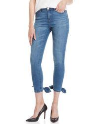 Ivanka Trump - Mid-rise Sculpting Skinny Jeans - Lyst