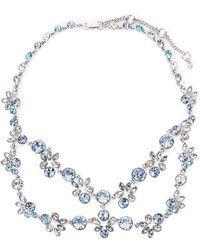 Givenchy - Rhodium-Tone Drama Statement Necklace - Lyst