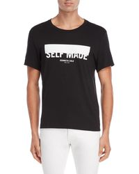 Kenneth Cole - Self Made Graphic Tee - Lyst