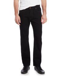 DIESEL - Black Waykee Regular Straight Jeans - Lyst