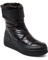 Calvin Klein - Black Leonie Nylon Wedge Boots - Lyst