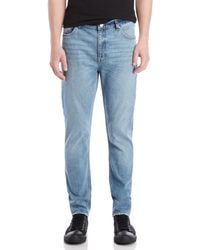 Cheap Monday - Coin Blue Audiac Tapered Jeans - Lyst