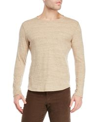 Max 'n Chester - Long Sleeve Crew Neck Tee - Lyst