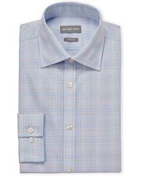 Michael Kors - Plaid Slim Fit Dress Shirt - Lyst