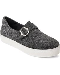 Opening Ceremony - Silver Didi Strap Metallic Slip-on Sneakers - Lyst