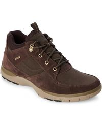 Rockport - Dark Brown Kingstin Waterproof Boots - Lyst