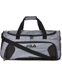 "Fila - 22"" Heather Grey Orson Medium Duffel - Lyst"