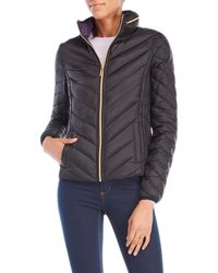 MICHAEL Michael Kors | Packable Hooded Jacket | Lyst