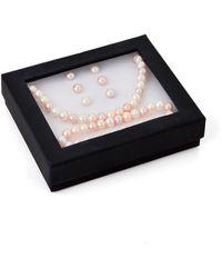 Tara Pearls - Multicolor Freshwater Pearl Necklace, Bracelet & Earrings Set - Lyst