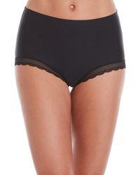 Nicole Miller - 3-pack Lace Trim Panty Set - Lyst