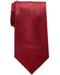 Calvin Klein - Classic Pindot Silk Tie - Lyst