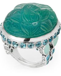 Stephen Dweck - Teal Mother-of-pearl Accented Ring Size 7 - Lyst