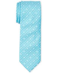 Kenneth Cole - Dot Pattern Slim Tie - Lyst