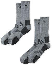 Columbia - Two-pack Wool Explorer Socks - Lyst