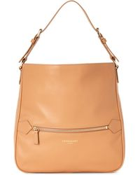 Longchamp - Natural 2.0 Leather Hobo - Lyst