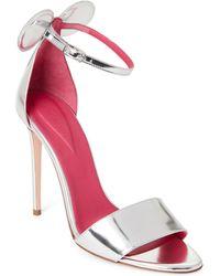 Oscar Tiye - Minnie Leather Two-piece High Heel Sandals - Lyst