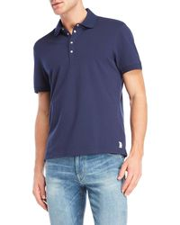 GAUDI - Cotton Polo - Lyst