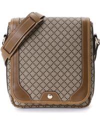 82099aef710 Lyst - Gucci Marine Diamante Leather Bucket Bag in Blue