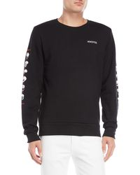 Bolongaro Trevor - Black Skull Fleece Sweatshirt - Lyst