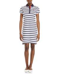 U.S. POLO ASSN. - Lollipop Stripe Polo Dress - Lyst