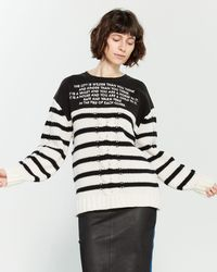 64315457ddbc Each x Other - Mix Media Striped Sailor Sweater - Lyst