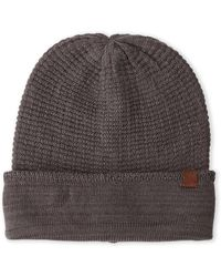 Timberland - Charcoal Slouchy Knit Beanie - Lyst